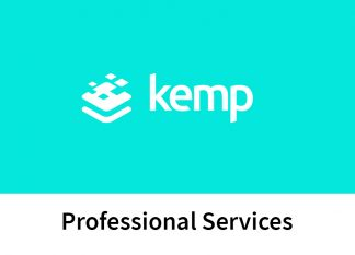 "the Kemp logo on a teal background, with text reading ""Professional Services"" below the logo."
